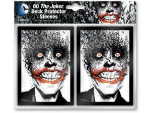 Card Sleeves - The Joker (10 Packs of 80) MINT/New
