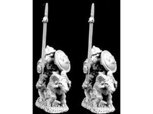 Dwarven Mounted Dragoon w/Lance on Rams MINT/New