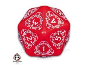 D20 Red w/White MINT/New