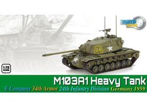 M103A1 Heavy Tank - E Company 34th Armor 24th Infantry Division MINT/New