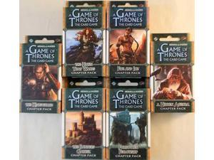 Game of Thrones - The Kingsroad Chapter Packs Collection MINT/New
