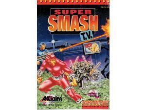 Super Smash TV Instruction Manual VG