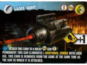 Zombie 15' Promo Cards - Laser Sight, Battering Ram, Incendiary Ammunition NM