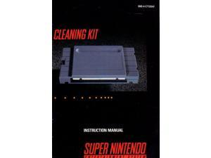 SNES Cleaning Kit Instruction Manual VG+