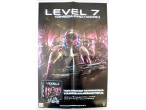 Level 7 - Omega Protocol Promo Poster EX