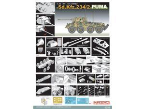 6256 1/35 1939-1945 Series Sd.Kfz. 234/2 Puma DMLS6256 Dragon Models USA
