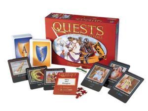 Quests of the Round Table VG+/NM