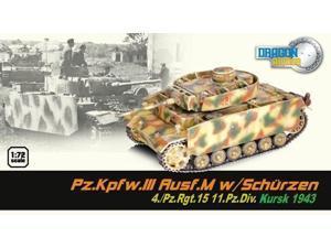Ps.Kpfw.III Ausf.M w/Schurzen 4./Pz.Rft. 15 11.Pz.Div - Kursk 1943 MINT/New