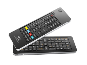 Rii Mini 5 in 1 Wireless Keyboard With Air Mouse i13 for PC Android TV Box HTPC/IPTV XBOX360 PS3