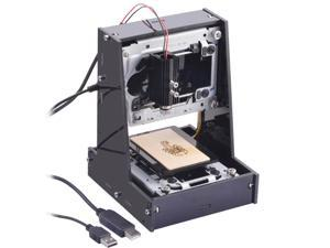 NEJE 300mW USB DIY Laser Engraving Engraver Cutter Cutting Machine Laser Printer with Glasses BLACK