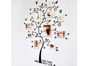 ZNUONLINE 730056 Removable Wall Decals Sticker Paper Photo Tree (Not Incluce The Photo Frames)
