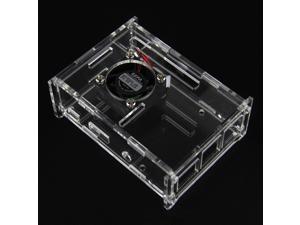 V31 Acrylic Case + V31 Cooling Fan for Raspberry Pi 3 Model B / 2B / B+
