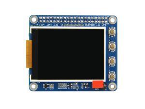 High PPI 2.2 inch TFT Display Shield for Raspberry Pi 2B/B+/A+ With 6 Keyboards and Remote IR