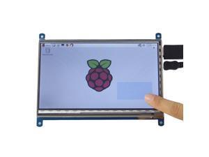 "7"" HDMI TFT Capacitive Touch Screen for Raspberry Pi 2 / Model B / B+ / B (1024 x 600)"