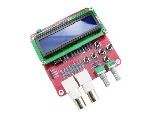 Function Signal Pulse Sine-triangle-wave Rectangular Jagged Noise generator and ABS Case Kit