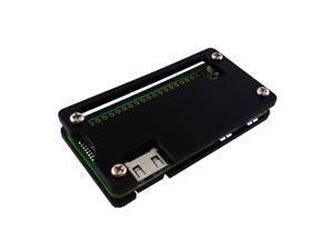 Acrylic Case for Raspberry Pi Zero - Black