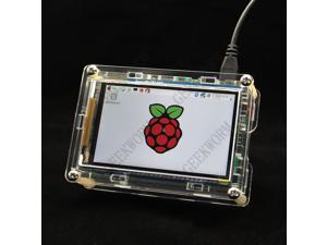 "Geekworm 3.5"" High-Speed Display Screen TFT Module and Acrylic Case for Raspberry Pi"