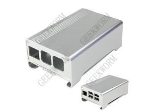 Aluminum Alloy Case and Cooling Fan Kit for Raspberry PI 3 Mode B & 2B & Raspberry Pi B+