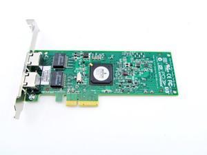 HP NC382T PCI Express Dual Port Gigabit NIC Network Adapter 458491-001 Full
