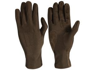 Isotoner A21524 Womens Stretch Classics Fleece Lined Gloves One Size Brown