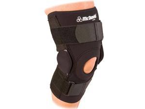 McDavid Classic Logo 422 CL Level 3 Knee Brace W/ Dual Disk Hinges - Black - Large