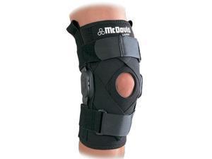 McDavid Classic Logo 429X CL Level 3 Knee Brace W/ Polycentric Hinges & Cross Straps - Black - Small