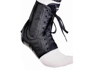 McDavid Classic Logo 199 CL Level 3 Ankle Brace / Lace-up W/ Stays Black large