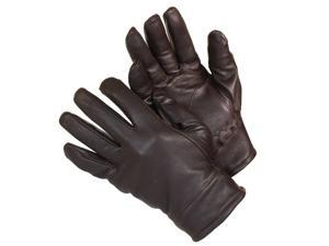 Isotoner Men's Deer Skin Thinsulate Lined Winter Gloves Brown Large