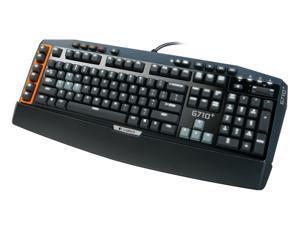 Logitech G710+ Mechanical Gaming Keyboard with Tactile High-Speed Keys 920-003887 - Black