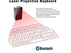 Wireless virtual laser keyboard for Ipad Iphone  For tablet PC smart phone  Projected Virtual Bluetooth keyboard  keypad Second Generation with mouse function