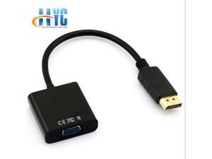 Display Port to VGA Display Port DP Male To VGA Female Cable Adapter Converter Hot Sale