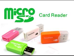 Micro SD Card Adapter Memory Reader Mini T-Flash USB2.0