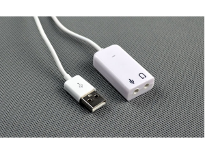 USB 2.0 Virtual 7.1 Channel Audio Sound Card Adapter 3D for XP Windows 7 Mac EXTERNAL LAPTOP HEADPHONE SOUND CARD ADAPTER