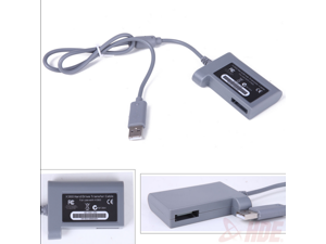 NEW Hard Drive HD Data Transfer Cord Cable Kit Link for Xbox 360 HDD USB Connector