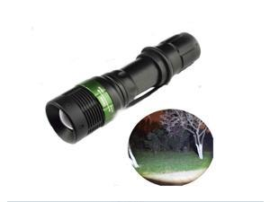 Waterproof CREE Q5 Mechanical Zoom Light Flashlight