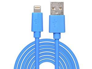 [Apple MFi Certified] LP® 8-Pin Lightning to USB Cable 9.8ft / 3M  Sync Charger Lead for iPhone 6 Plus 5s 5c 5, iPad Air mini mini2, iPad 4th gen, iPod touch 5th gen, and iPod nano 7th gen (Black)