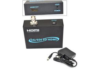 iKKEGOL 3G SDI to HDMI Converter Box HD-SDI 3G-SDI SD-SDI for Driving Monitor HDTV 1080P
