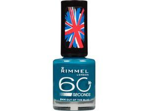Rimmel 60 Second Nail Polish, 844 Out of the Blue