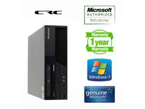 Refurbished: Lenovo M58p SFF Core2Duo E8400 (3.0 Ghz), 4G DDR3, 250G SATA, DVD, Windows 7 Home MAR 64 bits, Microsoft ...