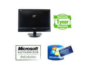 "Lenovo M92z All-In-One Computer i5 3rd Gen Quadcore 3470S 2.9Ghz, 8GB DDR3, 500GB, 23"" WideScreen 1920 x 1080 HD resolution, New Microsoft keyboard+mouse, built-in WIFI, 2M Webcam + One Year Warranty"