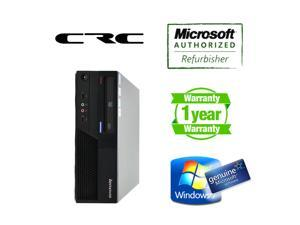 Lenovo desktop computer M58p SFF Core2duo 3.16Ghz, 4G DDR3, 250G HDD, DVD, Windows 7 Home 64 bits, Power Cord, One Year warranty, New Microsoft keyboard Mouse