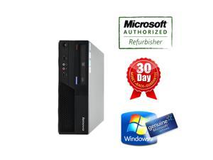 Lenovo desktop computer M58p SFF Core2duo 3.16Ghz, 2G DDR3, 250G HDD, DVD, Windows 7 Home 64 bits, Power Cord, 90 days warranty, Grade A