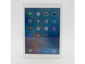 Apple iPad Air MD529LL/A , 32 GB, WIFI + 3G (Rogers, Bell, AT&T), White with Silver , Grade B