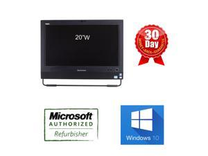 """Refurbished: Lenovo M72z All-In-One Computer i5 3rd Gen Quadcore 3470S 2.9Ghz, 8GB DDR3, 500GB, 20"""" WideScreen HD ..."""