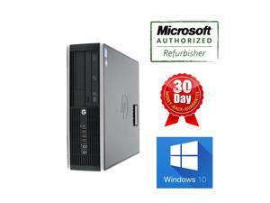 Hp elite Computer 8200 SFF I5 3.0Ghz, 4G DDR3, 250GB, DVDRW, Windows10 Professional with OS Loaded, 90 days Warranty from seller, Power Cord, grade A condition