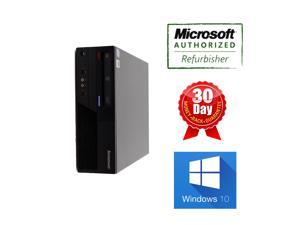Lenovo desktop computer M58p SFF Core2duo 3.0Ghz, 4G DDR3, 250G HDD, DVD, Windows 10 Home 64 bits, Power Cord