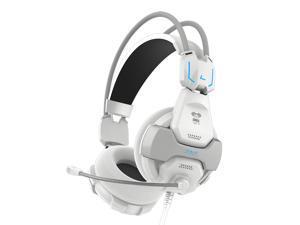 White E-3lue E-Blue Cobra 707 Gaming Headset Headphone Earphone with Microphone Mic EHS016WH