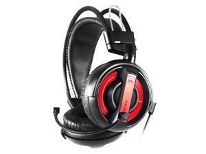 E-3lue E-BLUE Cobra EHH007 Red Black Cobra Gaming Headset Headphone Earphones with Microphone Mic