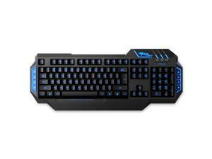 E-3lue E-Blue Backlit 112 Key USB Wired Gaming Keyboard for Windows 98/2000/ME/XP/Vista/Win 7/Win 8 EKM704