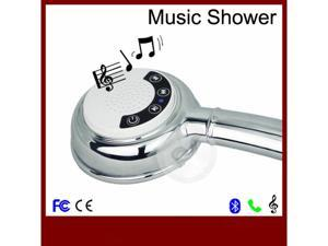 Hot Bluetooth Music Phone Showerhead With Waterproof Bluetooth stereo Wireless Speaker